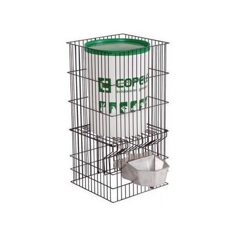 Bebedero perros aluminio automatico con deposito