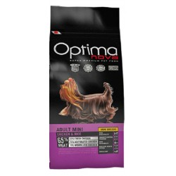 OPTIMA NOVA ADULT MINI CHIKEN & RICE CON CARNE FRESCA