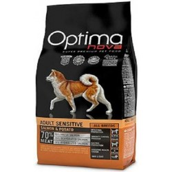 PIENSO OPTIMA NOVA ADULTO SENSITIVE SALMON Y PATATA