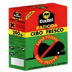 RATICIDA CUCHOL CEBO FRESCO 200GR